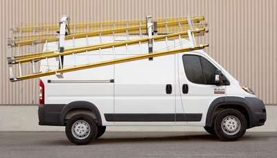 benefits of cargo van ladder racks