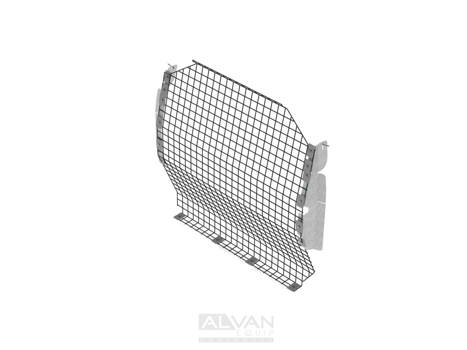 Van Bulkhead Partition, Contoured, Wire Mesh, Nissan NV200/City Express -  C13-W